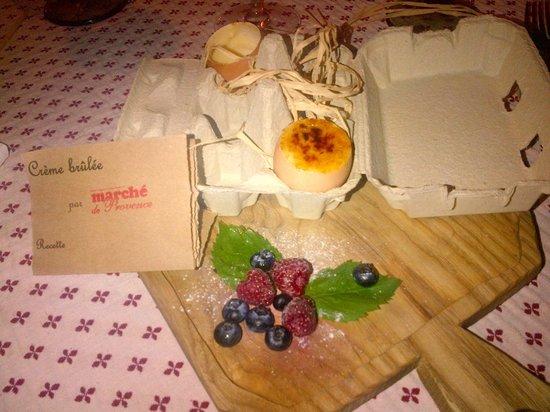 Marché de Provence: Крем брюле в чудесном исполнении