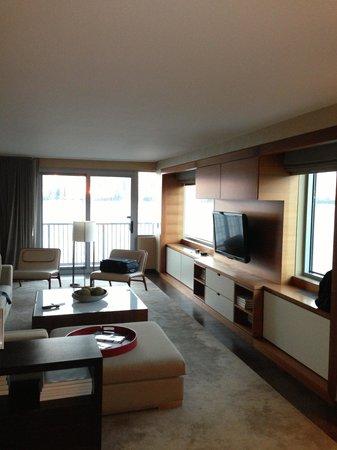Hyatt Regency Jersey City : Living room