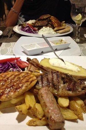 Ambrosia: kebab & mix grill enormous