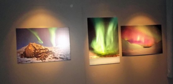 Akureyri Museum : Northern Lights picture