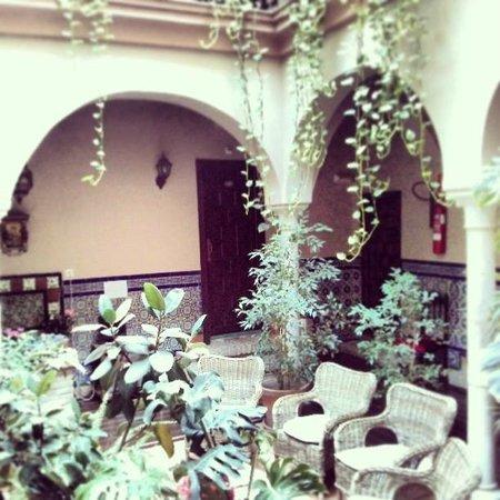 """Hotel Patio de las Cruces: the """"lobby"""""""