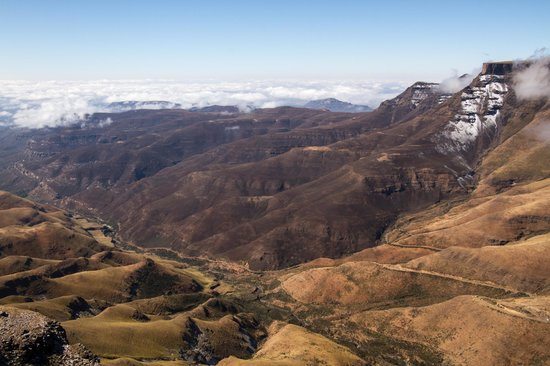 Sani Mountain Lodge : The Sani Pass