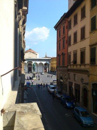 Soggiorno Panerai: Вид на Santissima Annunziata