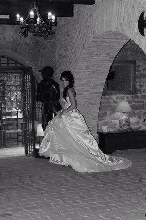 Castello di Rosciano : La sposa....