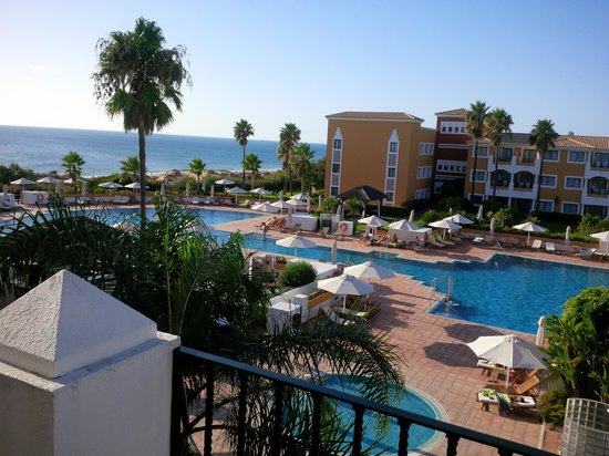 Meliá Sancti Petri: Vista desde balcón lateral, playa