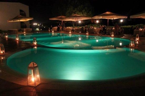Hotel Punta Negra: Wedding Reception at Night