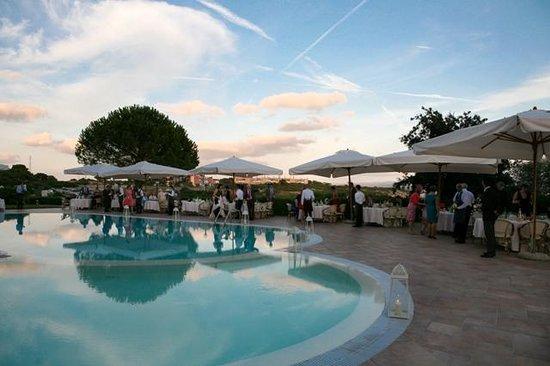 Hotel Punta Negra: Wedding Reception by the Pool