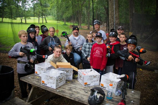 ‪‪Thornton‬, بنسيلفانيا: Birthday Parties - View more photos on our site: http://photos.thorntonpaintball.com‬