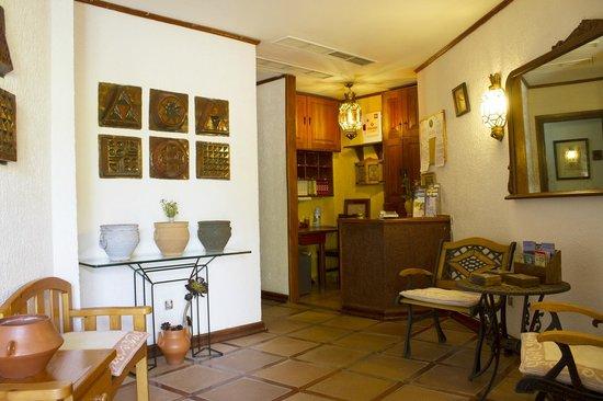 Hotel El Refugio : preciosa repeción del hotel