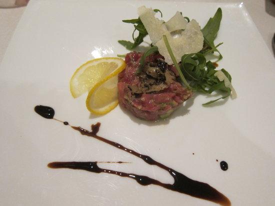 Ristorante Belcore : beef tartare...