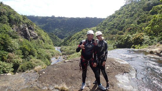 Vertical World: Canyoning Mauritius