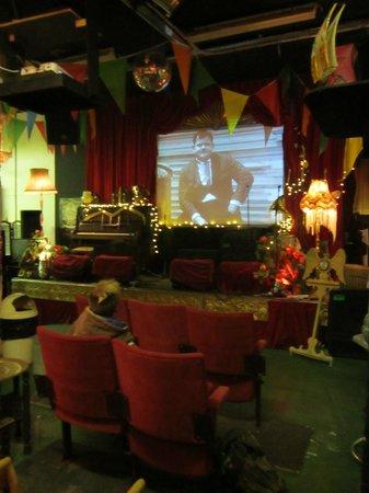 The ferocious Mingle Marcade: Cinema!