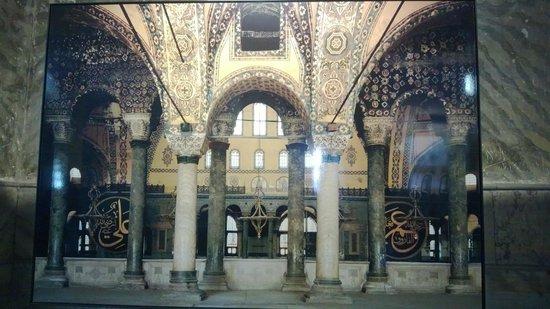 พิพิธภัณฑ์ฮาเจียโซเฟีย: inside the aya sofia