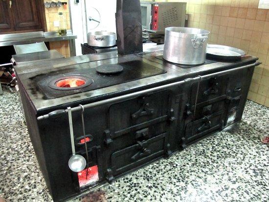Es Ventall : la cucina a legna