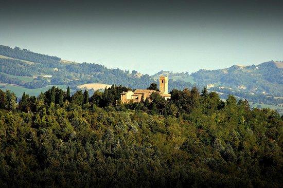 Mamiani Hotel Urbino : Panorama sulle colline di Montefeltro