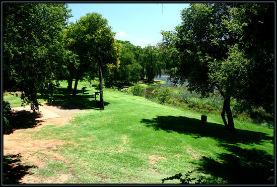 Parys, Sydafrika: View from stand