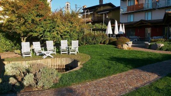 Hotel Miralago: Der Hotelgarden
