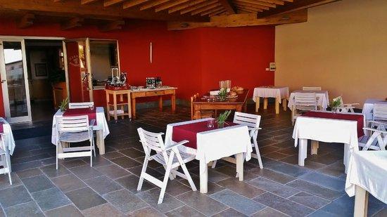 Hotel Miralago: Biergarden