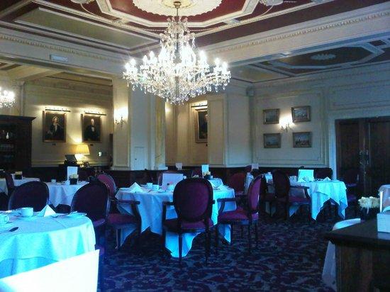 The Orwell Hotel: breackfast room