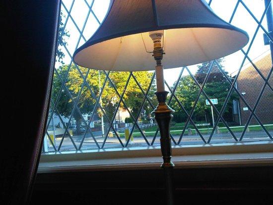 The Orwell Hotel: windows at breackfast