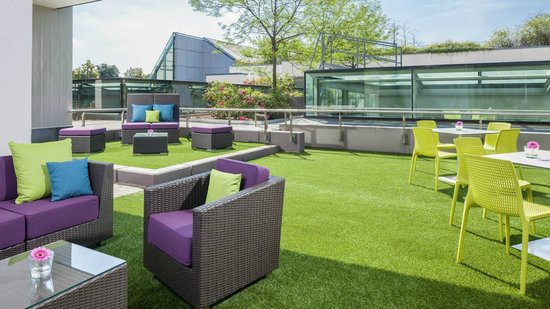 Four Points by Sheraton München Central: Conference terrace