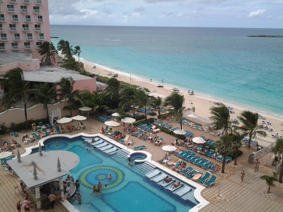 Hotel Riu Palace Paradise Island: view from room 519