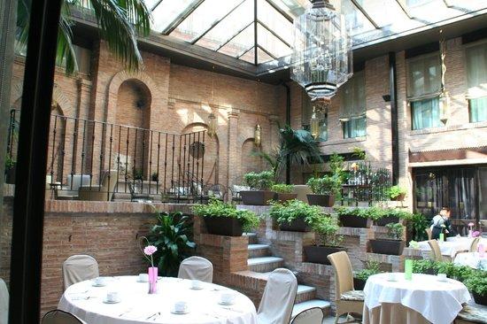 Vincci Albayzín : la salle de restaurant