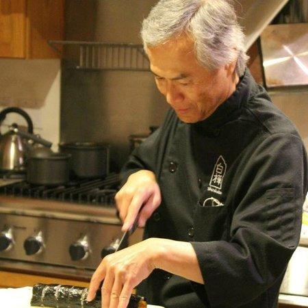 Berkshires Shirakaba Guest House: Sadao the cook
