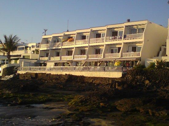 Cabrera Apartments : BLICK VON DER LANDZUNGE NEBEN DER ANLAGE
