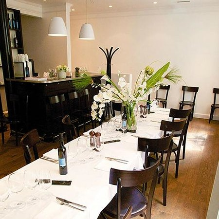 Cafe des Banques : Separate lounge for private parties