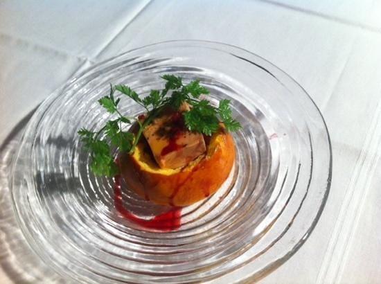 Barrique Restaurant : Mini cuchaule au foie gras