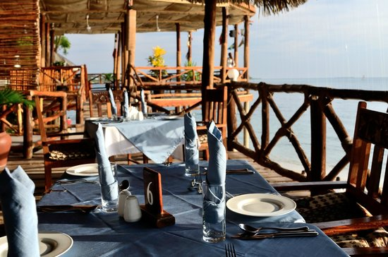Zanzibar Ocean View: Views enjoyed with Dining