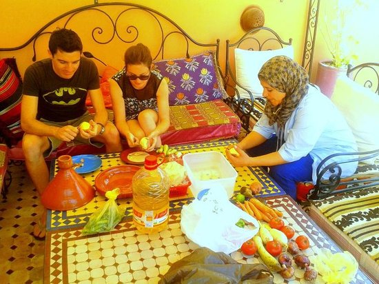 Cooking Class at Riad Layla Rouge