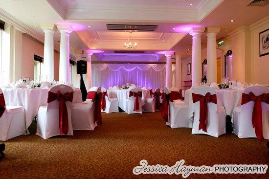 Mercure Winchester Wessex Hotel : Wedding Reception