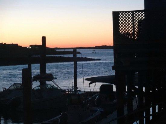 Mattakeese Wharf: Sunset View