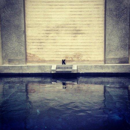 Riad K : La piscina