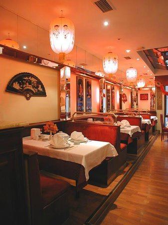 Over The Bar Picture Of Ming Garden Chinese Restaurant Istanbul Tripadvisor