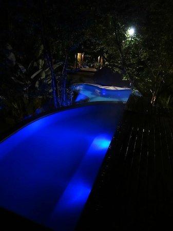 Hotel Warabi: private outdoor pool of casa do vinho