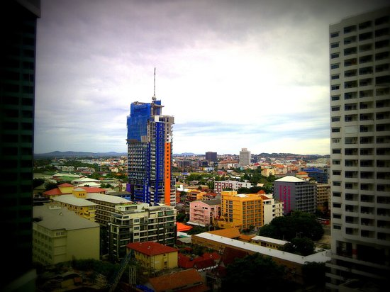 Holiday Inn Pattaya : view from the room