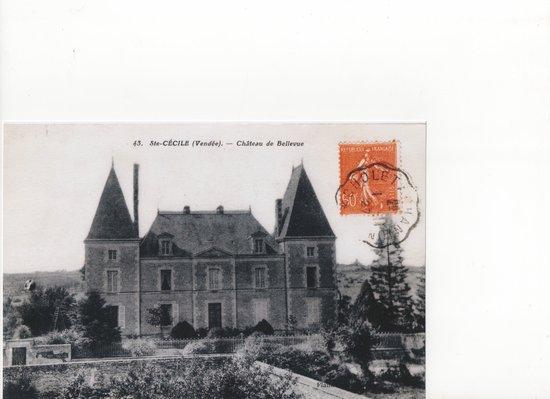 Château de Belle-Vue : Autrefois