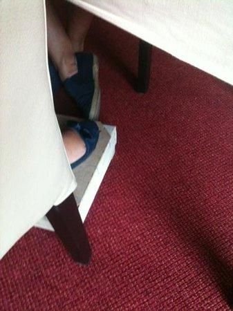 Auberge aan het Hof: mijn kistje voor mn voeten