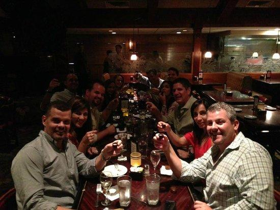 Tropical Acres Restaurant: Celebrating the September Birthday gang!!