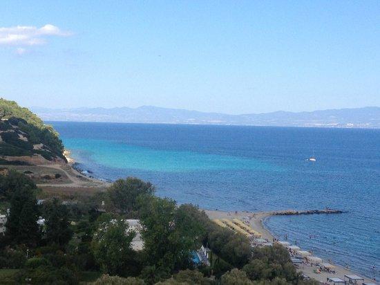 Pallini Beach Hotel: our view