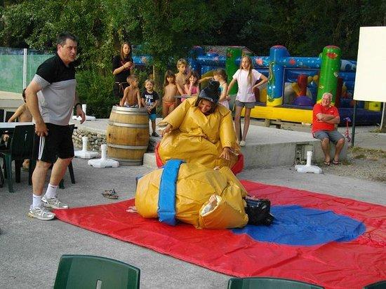 Domaine de Gaujac : soiree sumo