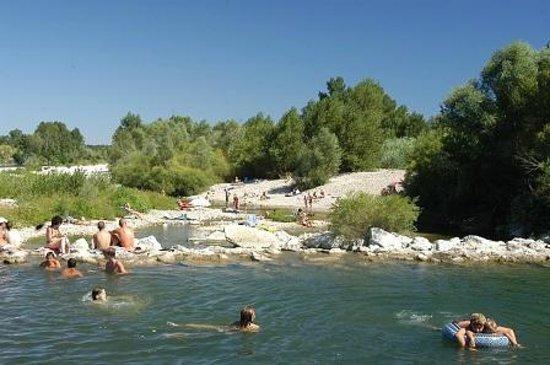 Domaine de Gaujac : riviere gardon
