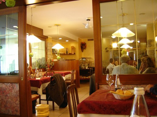 Pizzeria Don Pedro: la sala