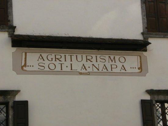 "Agriturismo Sot La Napa: ingresso Agriturismo "" Sot la Napa"""