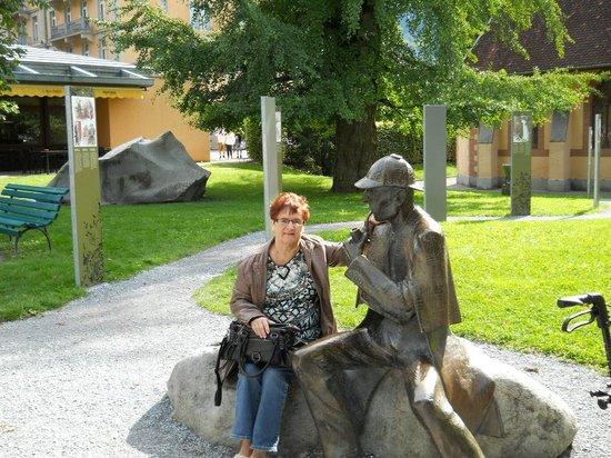 Hotel Alpbach: thuisbasis Sherlock Holmesmuseum