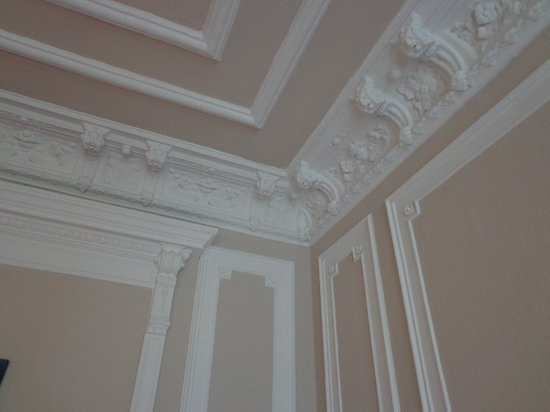 Hotel Am Dammtor: ceiling decors in the room