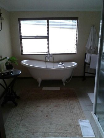 Alluvia Wine Estate : bathsalts and foam available